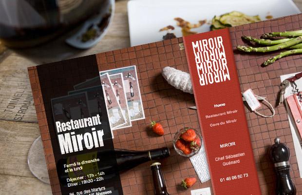 Miroir – Site internet