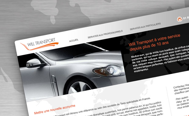Will Transport – Charte internet