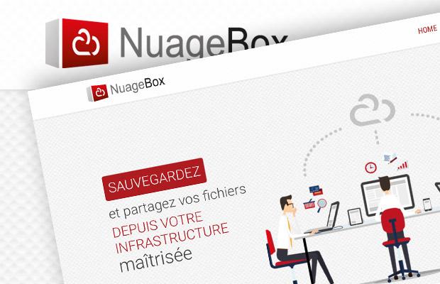 Charte graphique Nuage Box