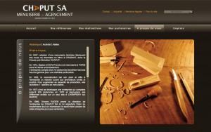 Chaput - Réalisation de la Charte Internet