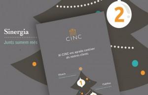 Carte de voeux CINC 2014
