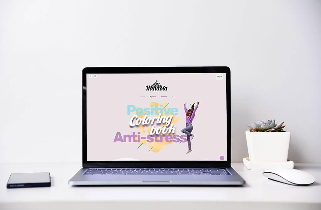 Branding, Web design, Illustration –  Hanaoïa