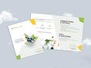 Flyer layout - Graphic design