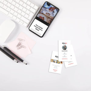 Web Design and Business Card, Benjamin Kalifa